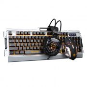 Kit Teclado Mouse Headset Marvo CM303 Gaming Scorpion