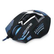 Mouse Marvo Gaming Scorpion Azul M418