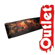 Mouse pad Gamer Evolut OUTLET EG-402 RED 700X300X2MM/HV-MP861