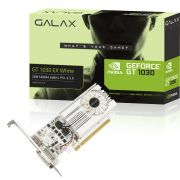 Placa de Video GALAX GeForce® GT 1030 EX Branco 2GB SDDR4 de 64 bits HDMI