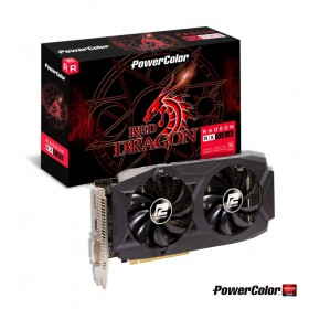 Placa de Video PowerColor Radeon RX 580 8GB 8GBD5-DHDV2/OC