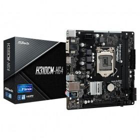 Placa Mãe AsRock H310CM-HG4 Intel LGA1151 DDR4 MATX 8ª E 9ªG