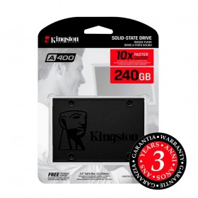 SSD Kingston 240gb A400 Sata III 2,5