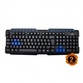 Teclado Gamer OEX Action Multimidia ABNT2 TC200