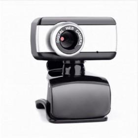 Webcam BRAZILPC V4 1.5M c/Mic Preto/Prata