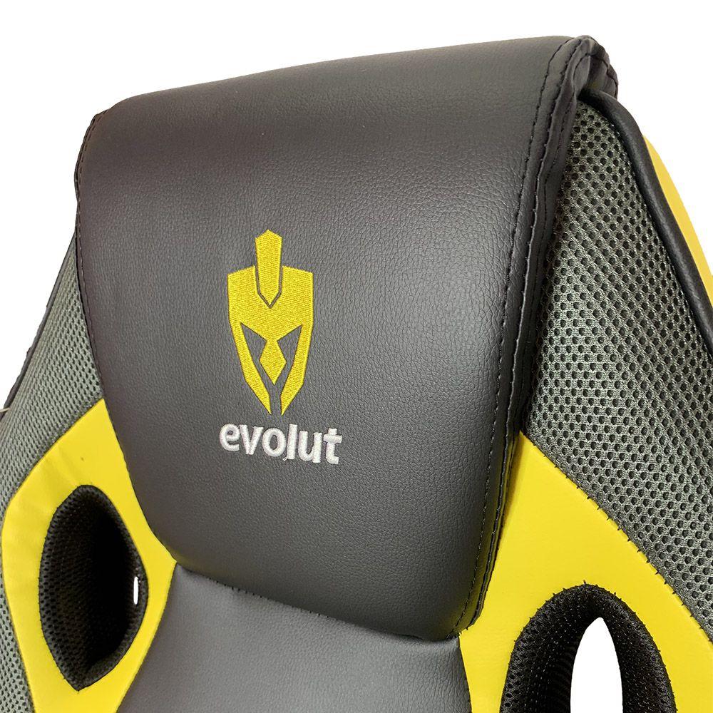 Cadeira Evolut Racing EG-901 Amarelo