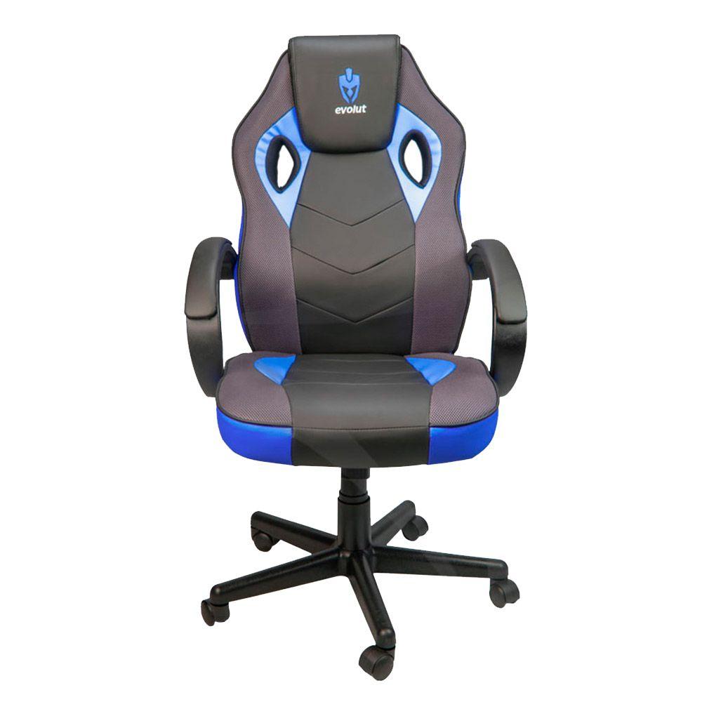 Cadeira Evolut Racing EG-901 Azul