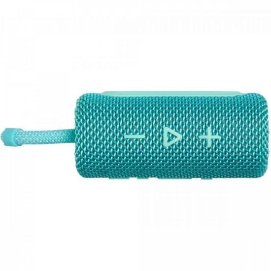 Caixa de Som Bluetooth 4W GO 3 Verde Água JBL