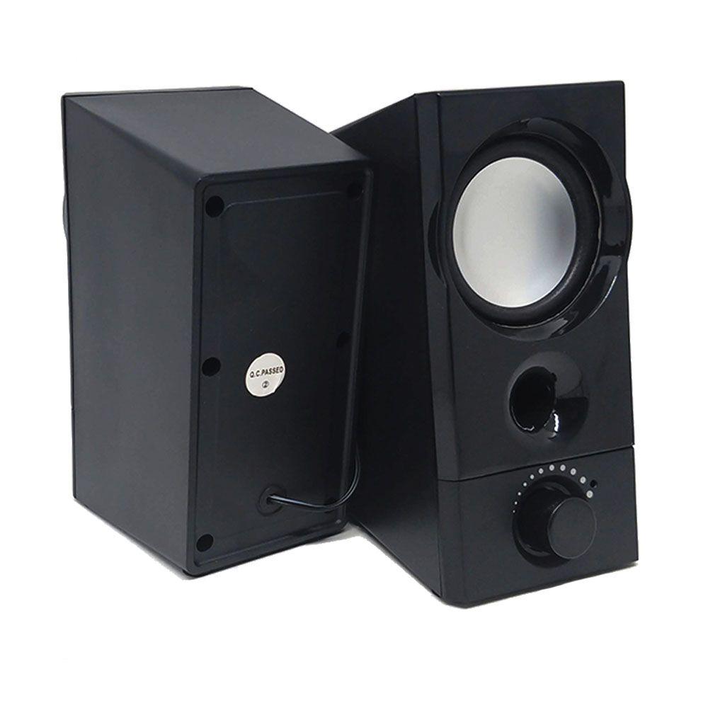 Caixa de Som Infokit  Vc-D420 p/ Computador e Smartphone 10W c/ BASS