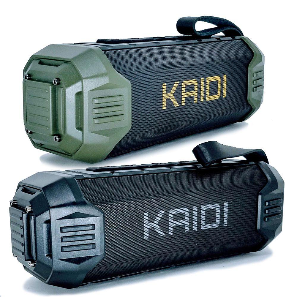 Caixa De Som Portatil Kaidi Kd805