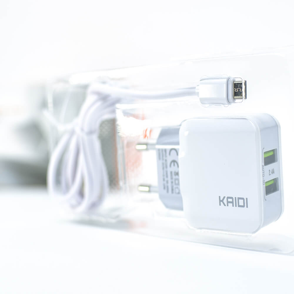 Carregador Kaidi Duplo USB KD-301S