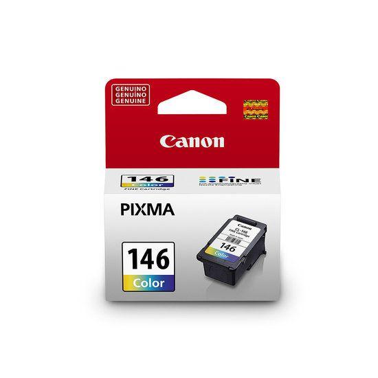 Cartucho De Tinta Canon 146 Colorido Cl-146