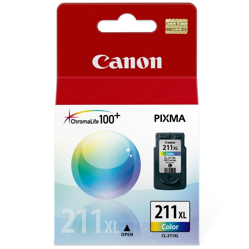 Cartucho De Tinta Canon Colorido CL-211