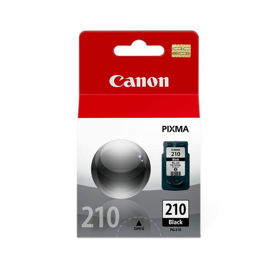 Cartucho De Tinta Canon Pg210 Preto