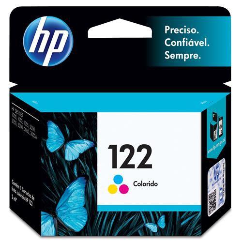 Cartucho de Tinta HP 122 Tricolor - CH562HB