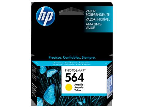 Cartucho de Tinta HP 564 Amarelo - CB320WL