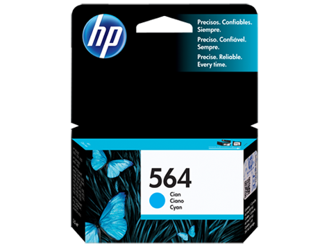 Cartucho De Tinta HP 564 Ciano - CB318WL