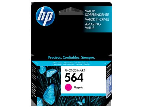Cartucho De Tinta HP 564 Magenta - CB319L