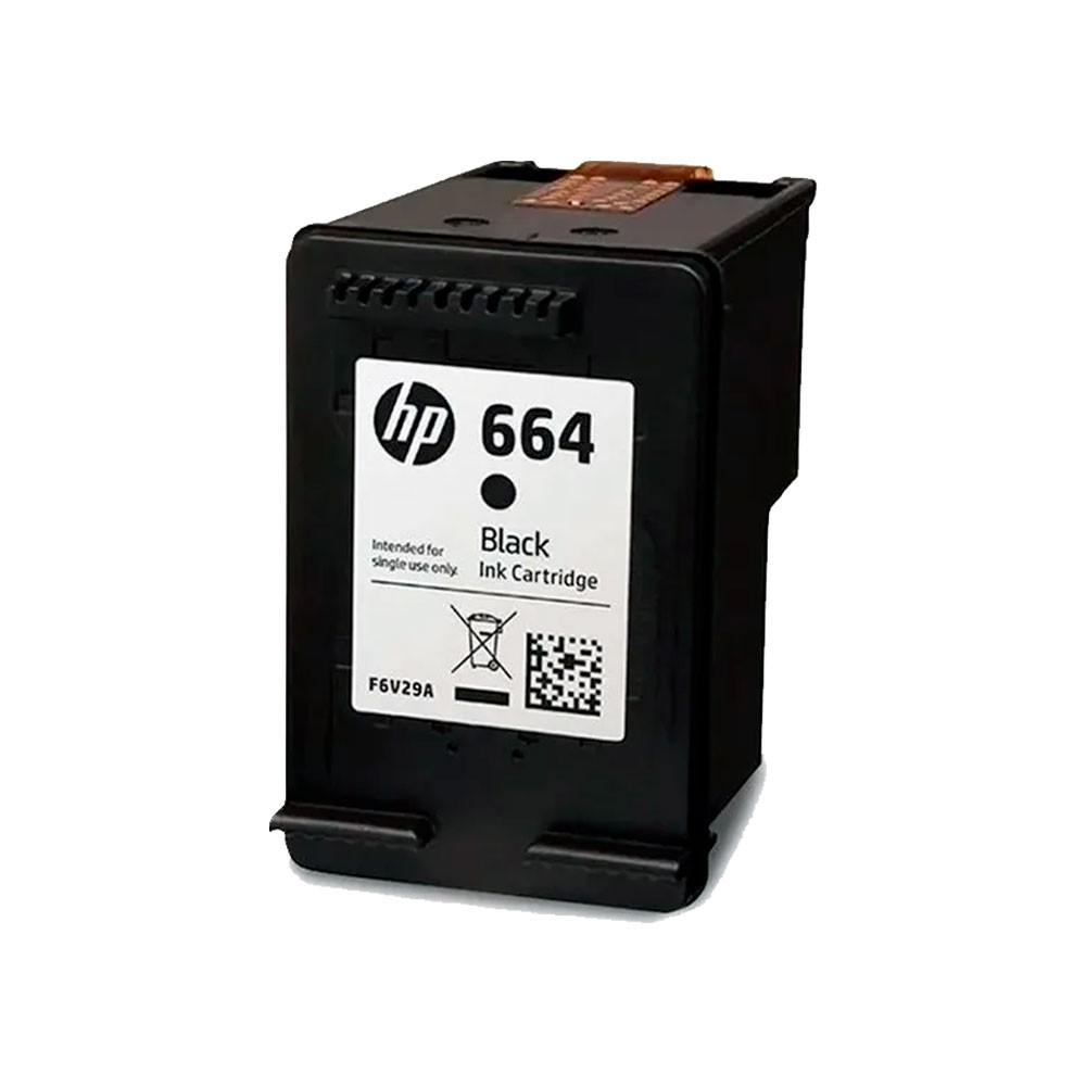 Cartucho de Tinta HP 664 Preto F6V29AB