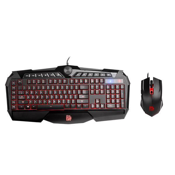Combo Teclado+Mouse TT Esports Challenger Prime KB-CPC-MBBRPB-01