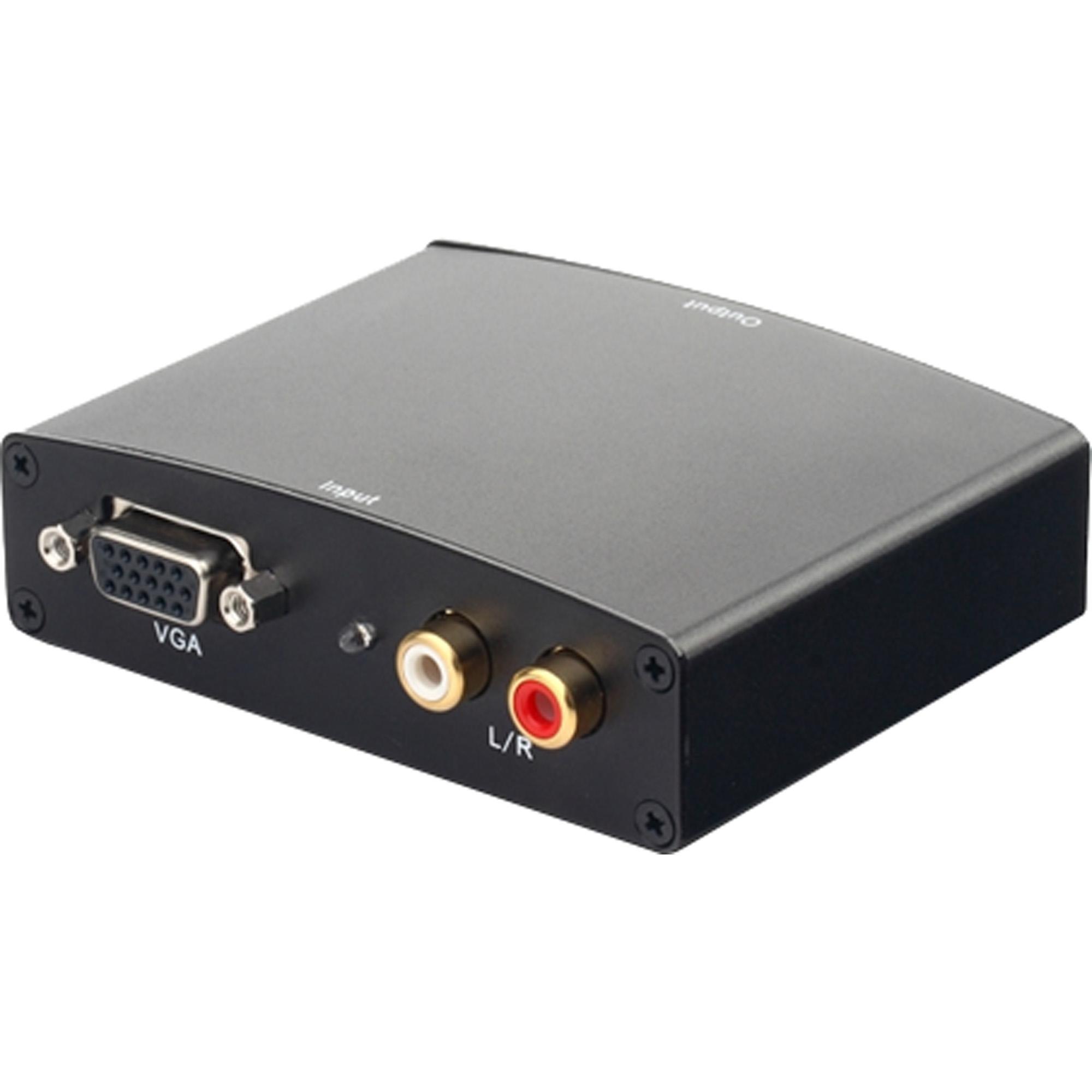 Conversor VGA Para HDMI ADAP0039 Preto STORM