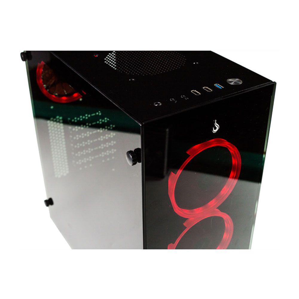 Fan Rise Mode Galaxy G1 S-led - Vermelho