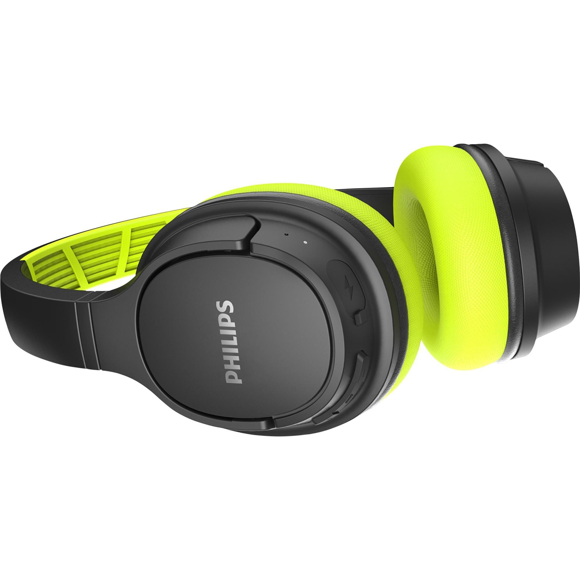 Fone de Ouvido Bluetooth TASH402LF/00 Verde/Preto PHILIPS