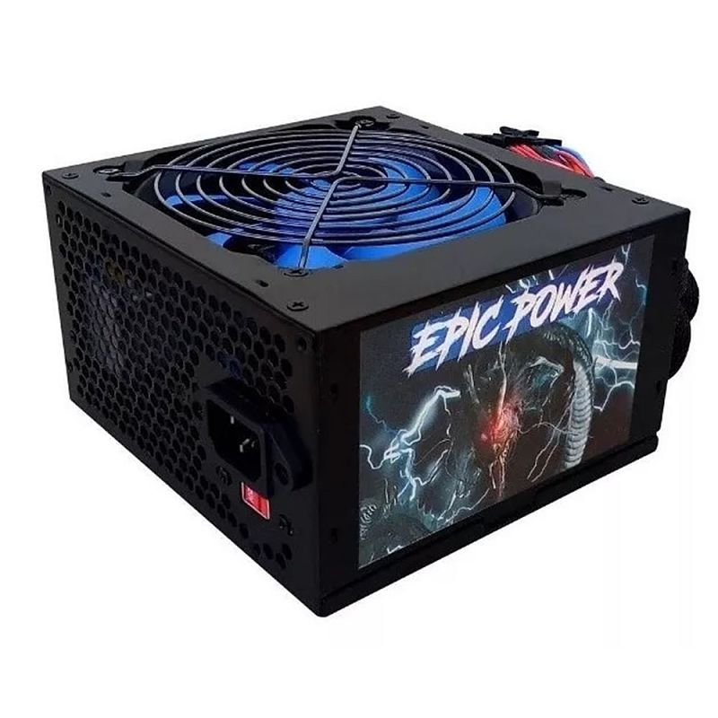 Fonte ATX EPIC Power 500W 24 Pinos EP-C500