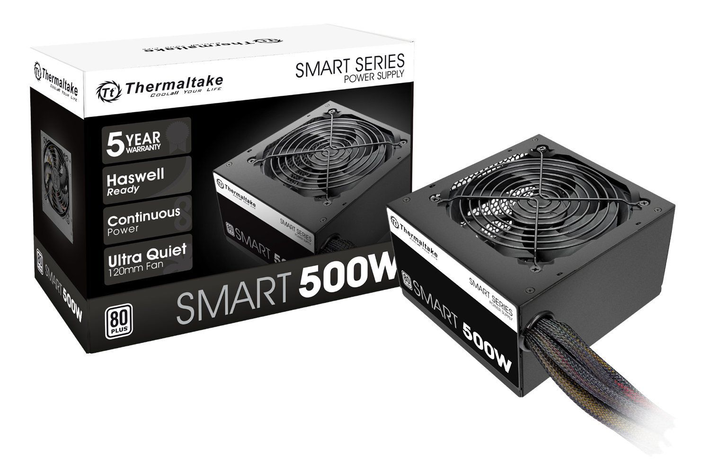 Fonte de Alimentação ATX Thermaltake 500W TT SMART PFC 80+
