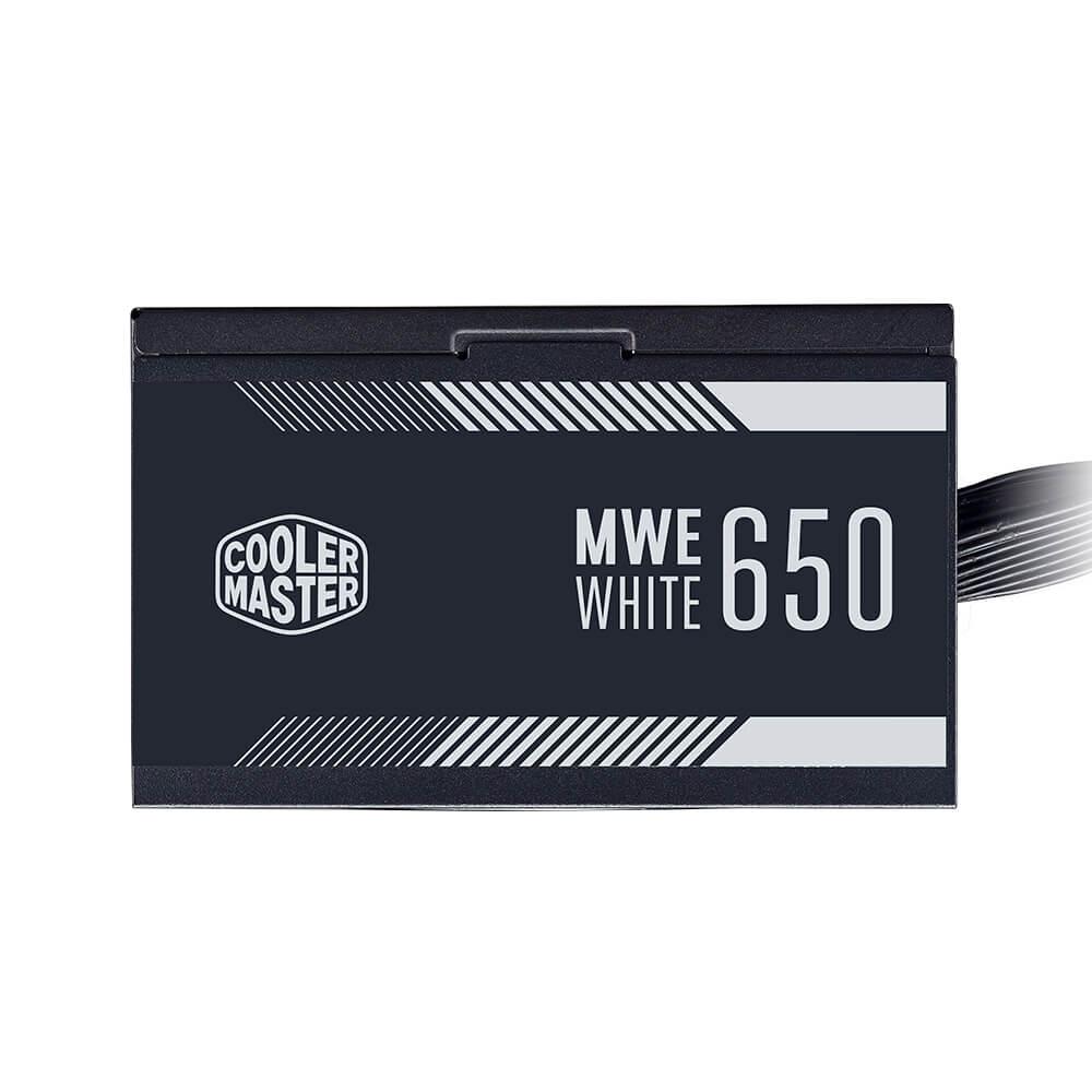 Fonte de Alimentação Cooler Master MWE White 650W 80 Plus