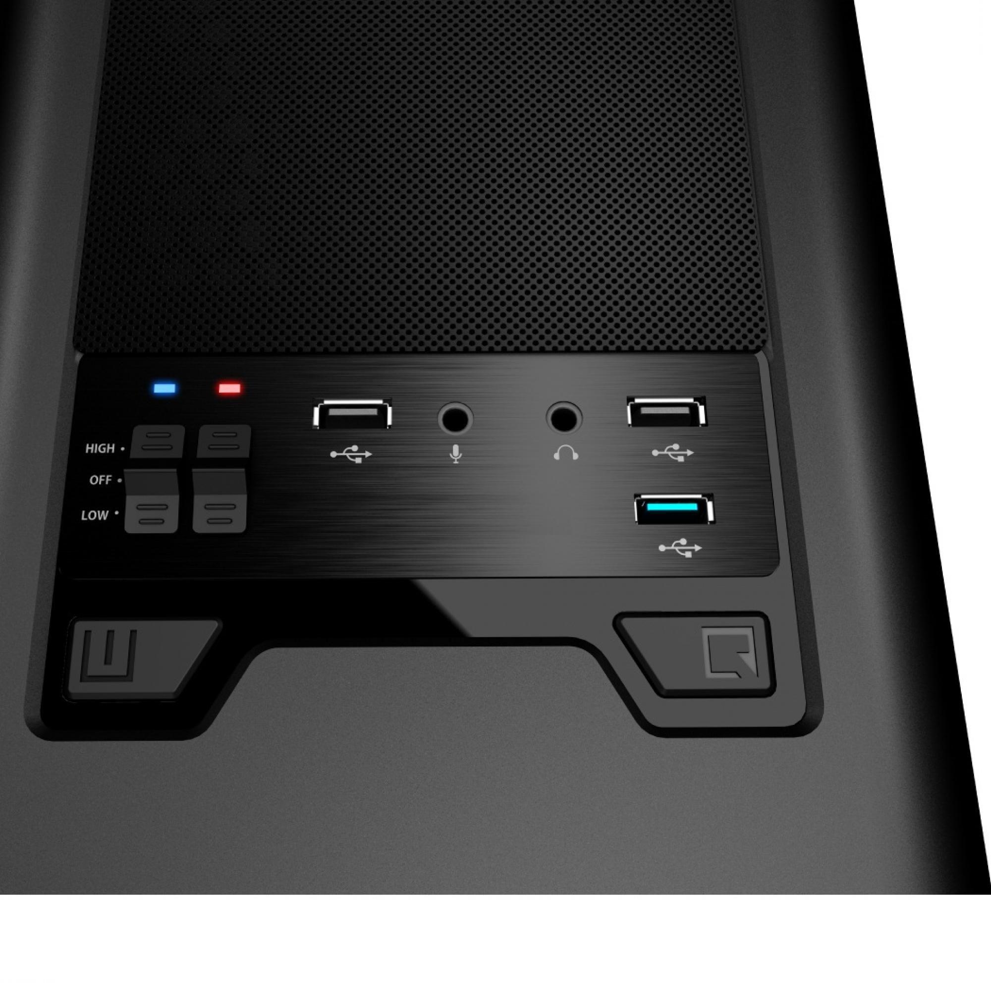 Gabinete Aerocool Aero 500 Window USB 3.0 Branco S/Fonte EN55583