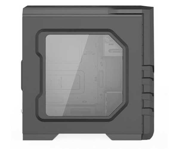 Gabinete Gamer Gamemax G530R Full Window Vermelho