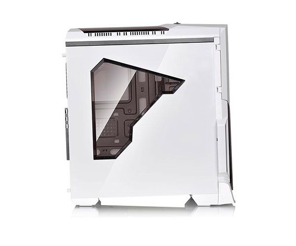 Gabinete Thermaltake TT Versa N21 SNOW/WIN/3*120MM/RED LED FAN CA-1D9-00M6WN-03