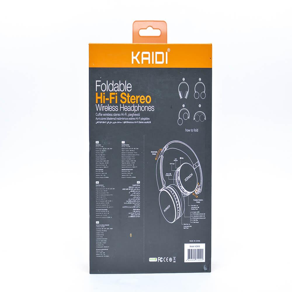 Headphone Kaidi Bluetooth Estéreo sem fio KD-918