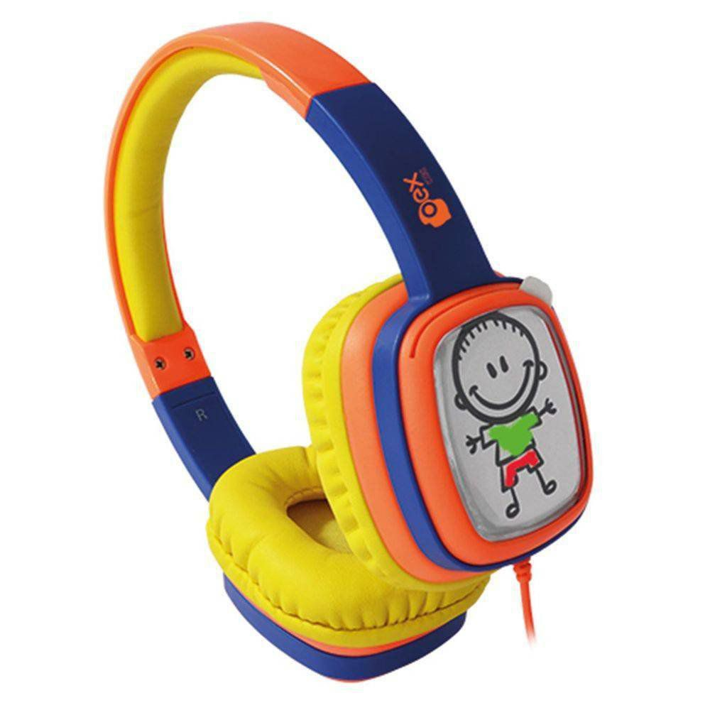 Headphone Oex Cartoon Infantil Hp302 Colorido Lr/Az