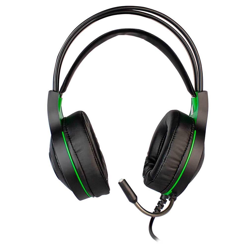 Headset Gamer Evolut Têmis EG-301GR Verde