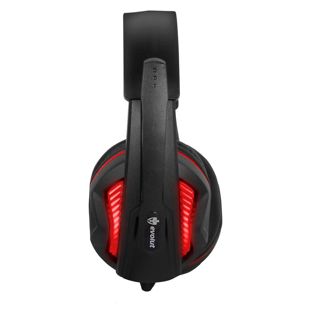 Headset Gamer Evolut Thoth EG-305 Vermelho