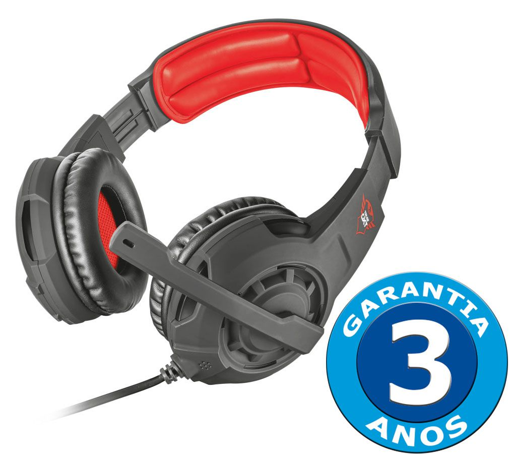 Headset Gamer Trust GXT 310 Radius Black T21187