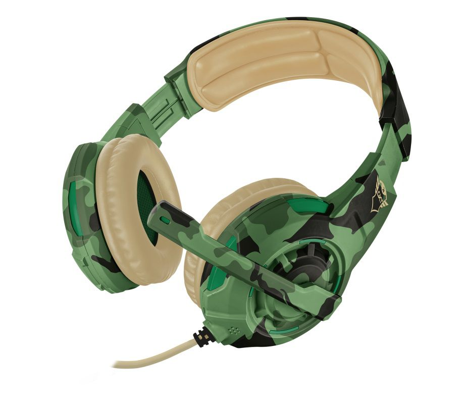 Headset Gamer Trust GXT 310C Radius Jungle Camo T22207