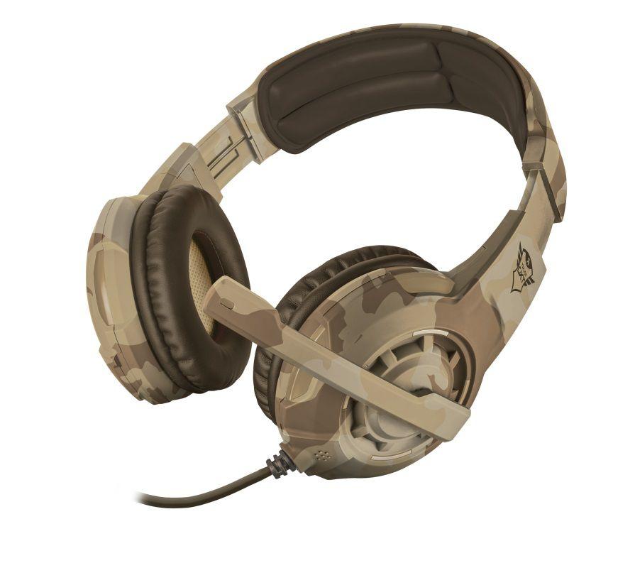 Headset Gamer Trust GXT 310D Radius Desert Camo T22208