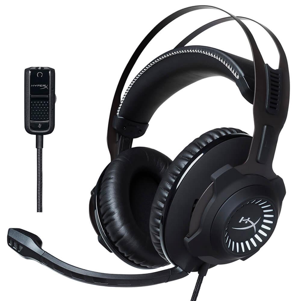 Headset Gaming Pro HyperX Cloud Revolver HX-HSCR-GM Preto