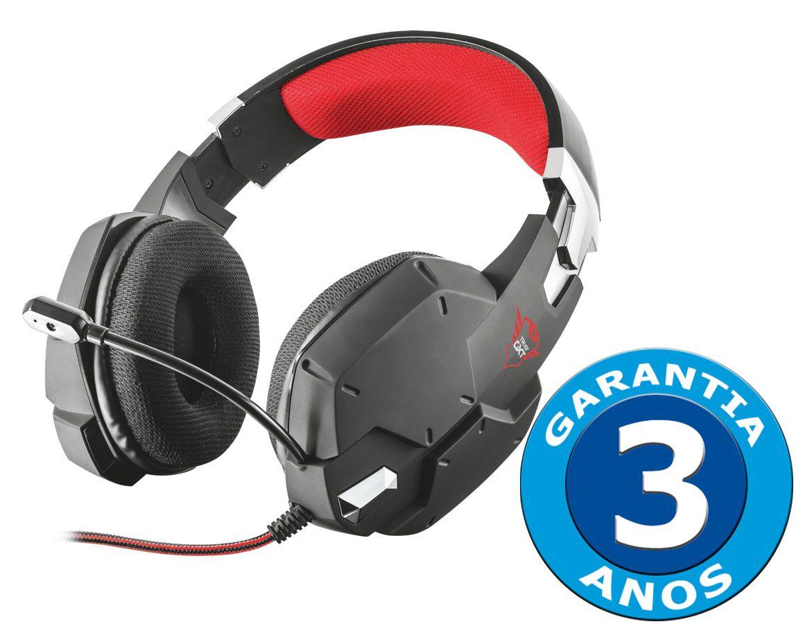 Headset Trust GXT 322 Carus Dynamic Black T20408