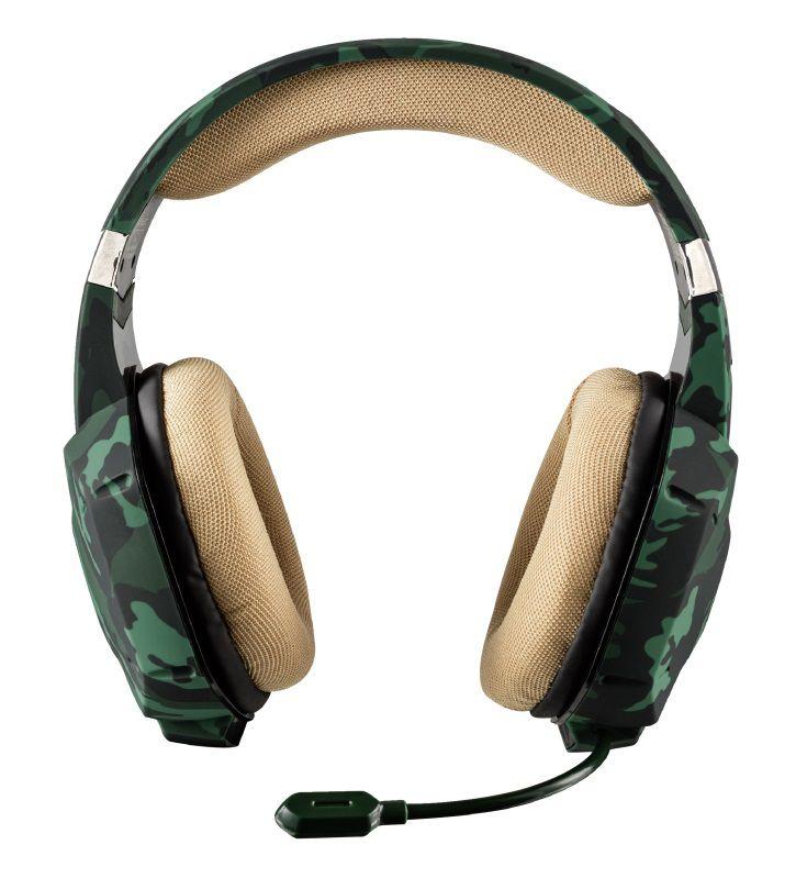 Headset Trust GXT 322C Carus Jungle Camo T20865