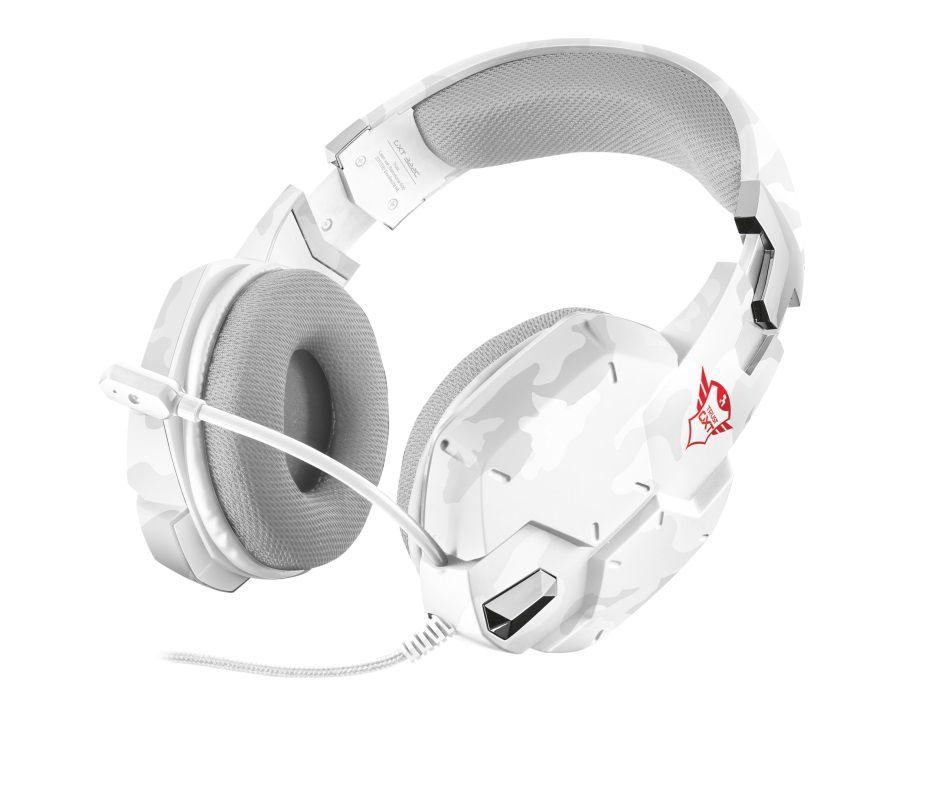 Headset Trust GXT 322W T20864 Carus Snow Camo