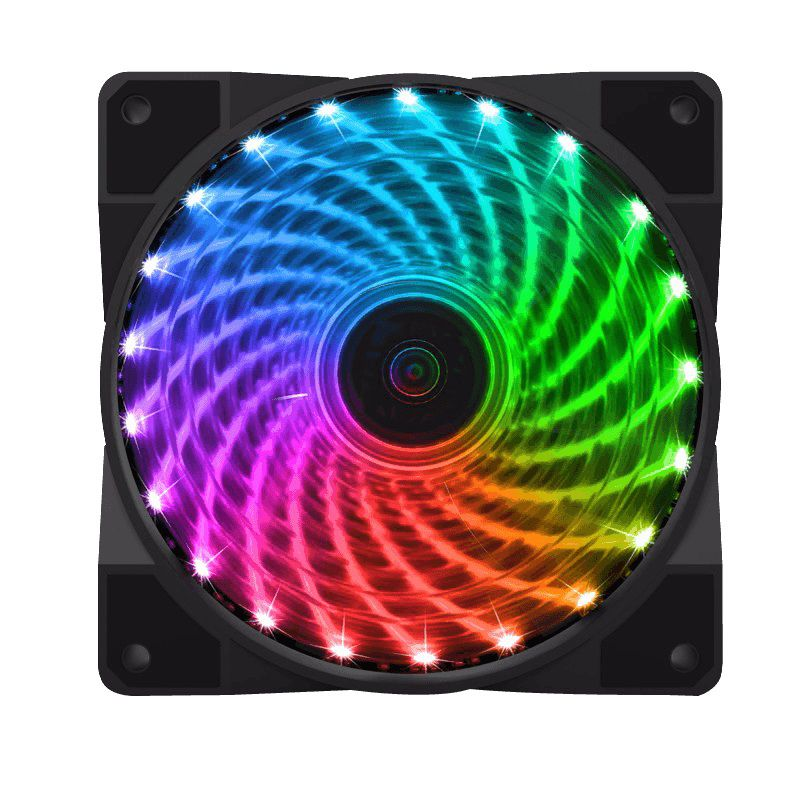 Kit Cooler Gabinete Gamemax CL400 4 Fan X 120x120x25mm RGB 21Leds C/Controle Remoto