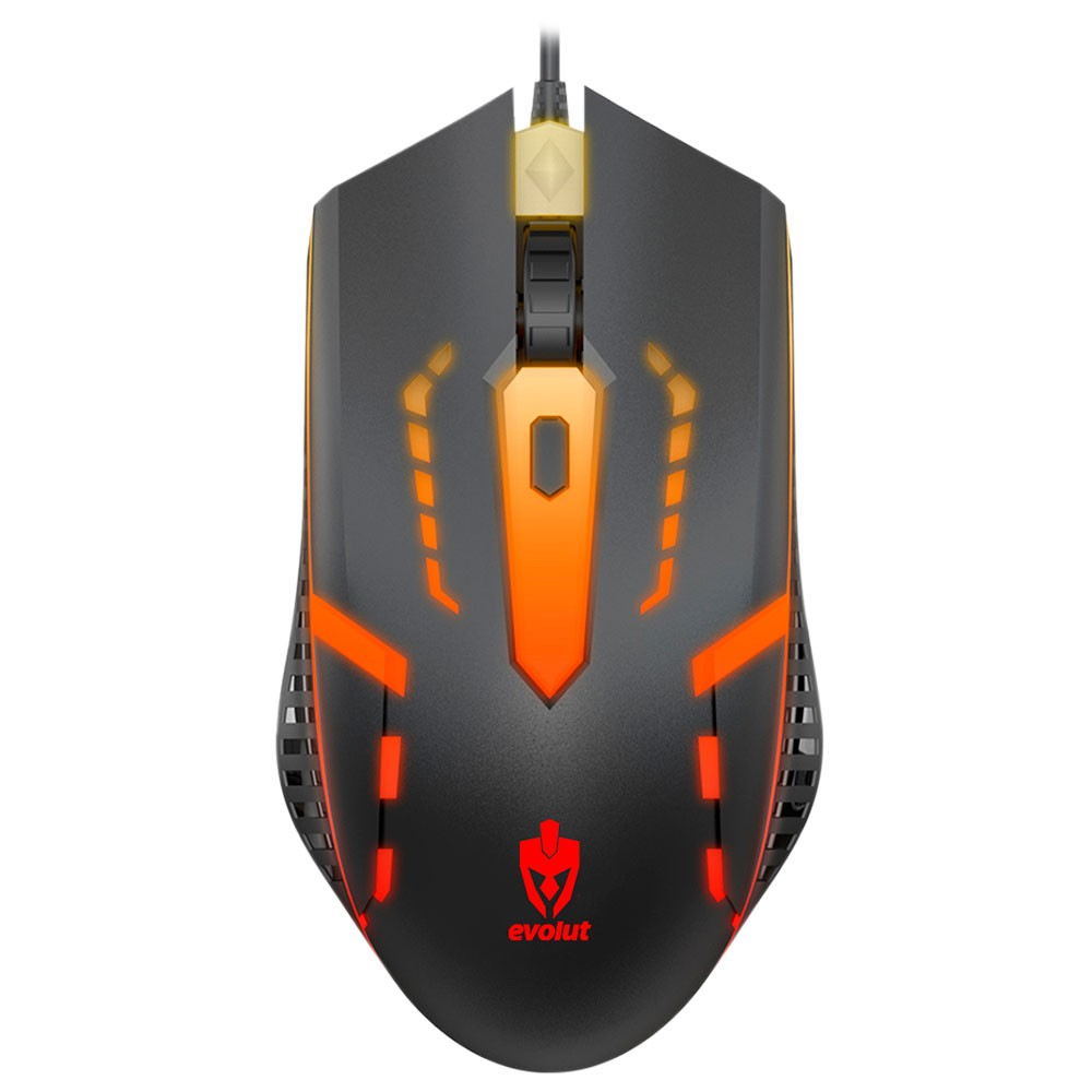 Kit Gamer Teclado Mouse Headset Mousepad Evolut EG51