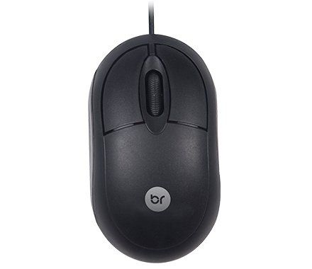 Kit Teclado + Mouse Bright Standart Usb Preto