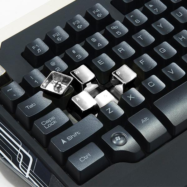 Kit Teclado + Mouse TT Espports Commander KB-CMC-PLBLPB-01