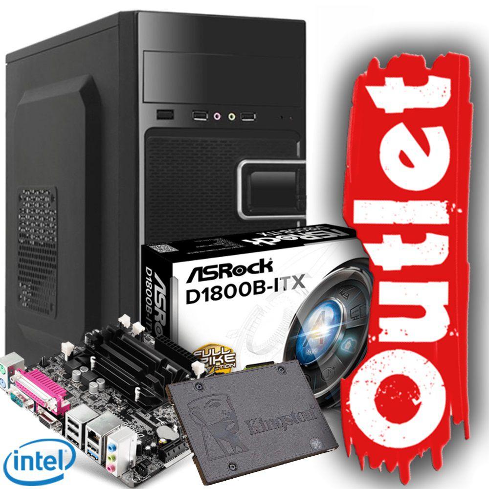 Microcomputador Brotherss Office B9559 OUTLET (D1800/4GB/SSD120GB/GM-13T9)