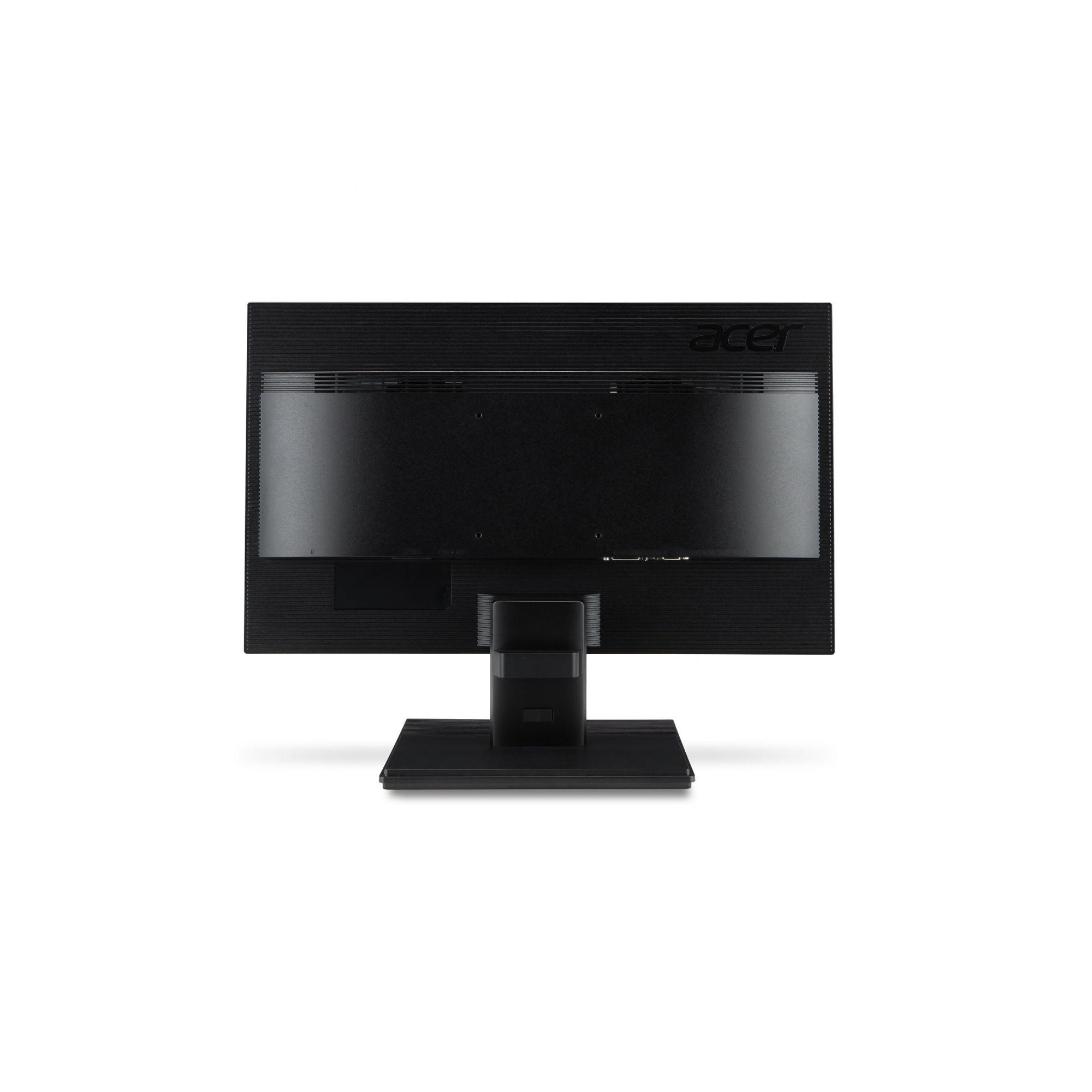"""Monitor Acer 19,5"""" V206HQL LCD HD 1366x768 VGA/HDMI/VESA Preto"""